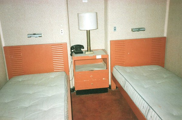 One of the Cabins on the American Star.