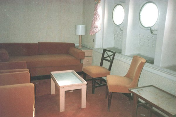 Another view of a cabin on the American Star.