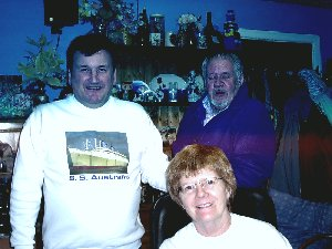 Photo is of Patricia O'Brien, Jim Galloway and Ken Ironside.